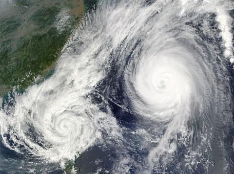 引越し 台風