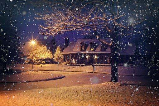 雪の日 引越し